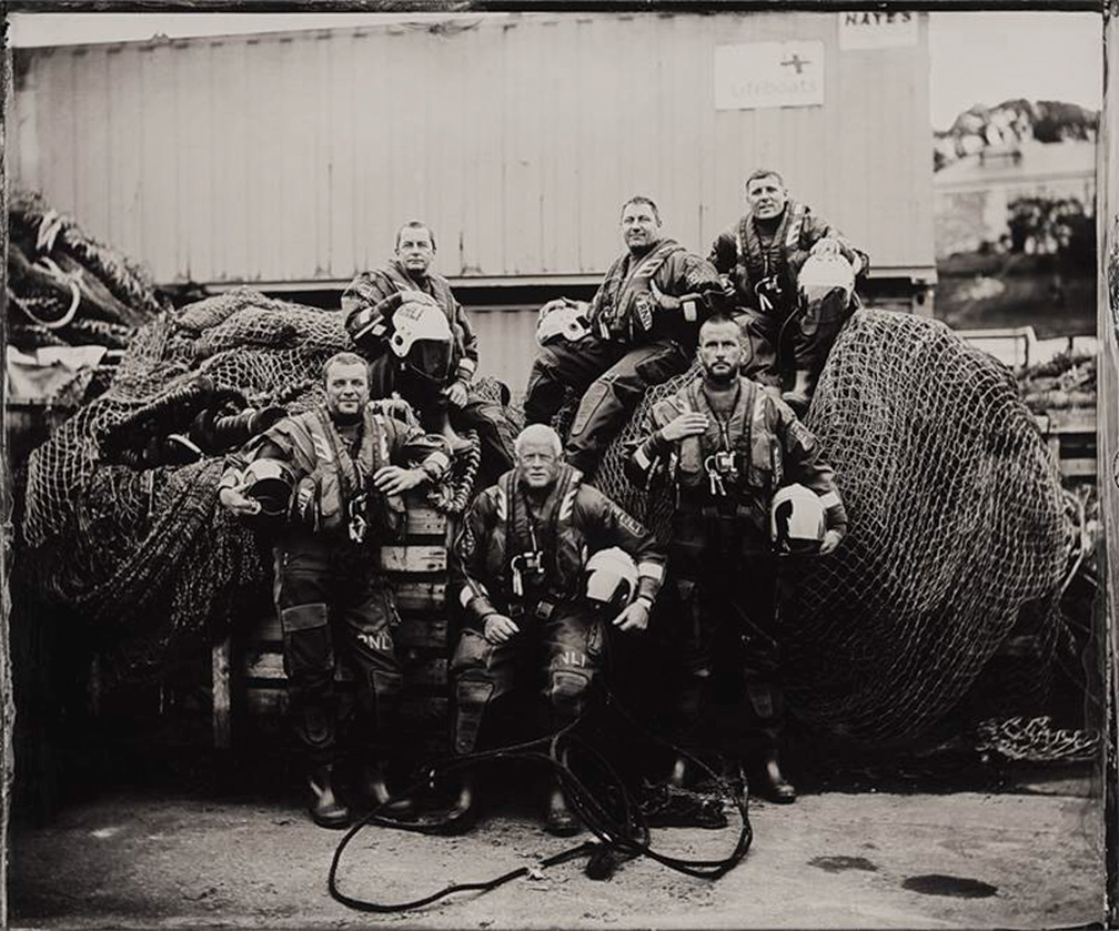 Union Hall RNLI members feature in historic calendar