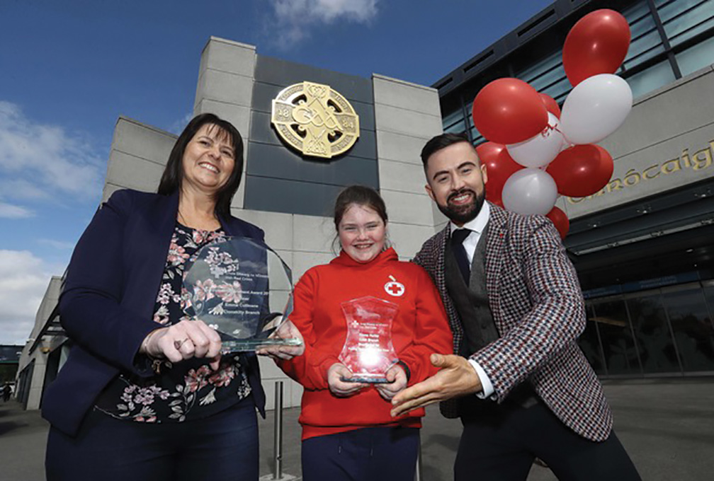 West Cork's Emma Cullinane takes home youth accolade at Irish Red Cross National Volunteer Awards