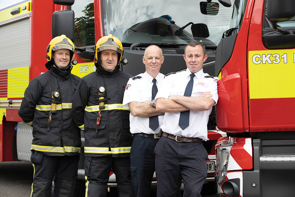 Cork County Fire Service welcomes new additions to fleet