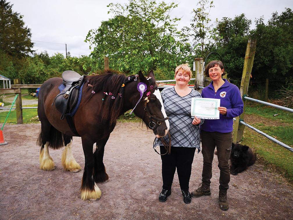 Lifelong learning on Hairy Henry  Care Farm in Ballylickey