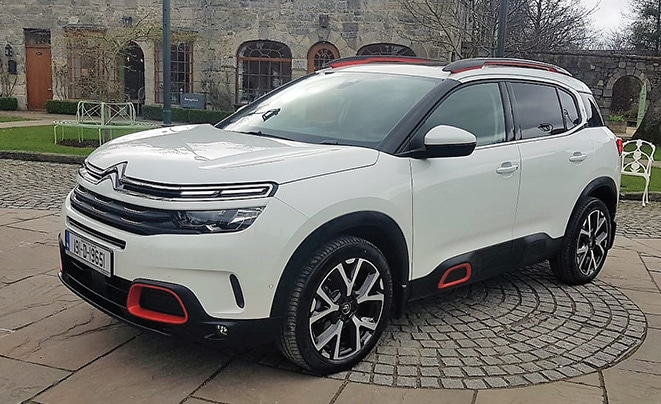 Citroen C5 Aircross offers great security