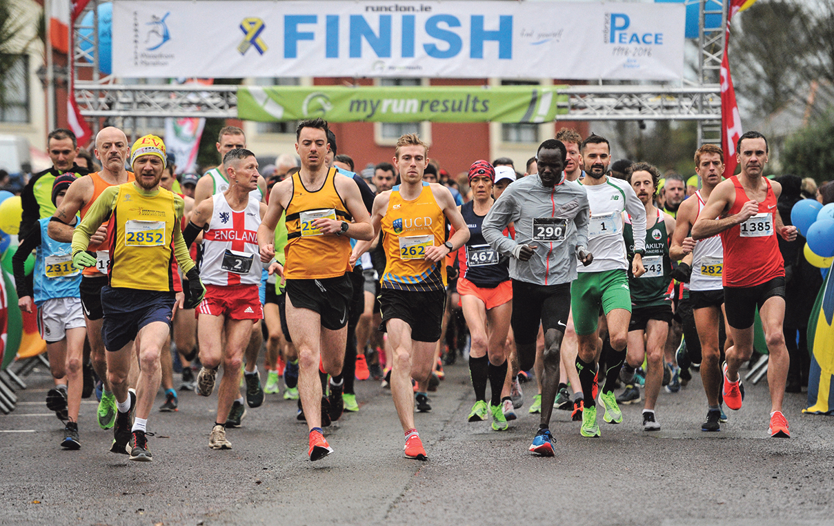 Miles and smiles in the 10th year of the Clonakilty Waterfront Marathon