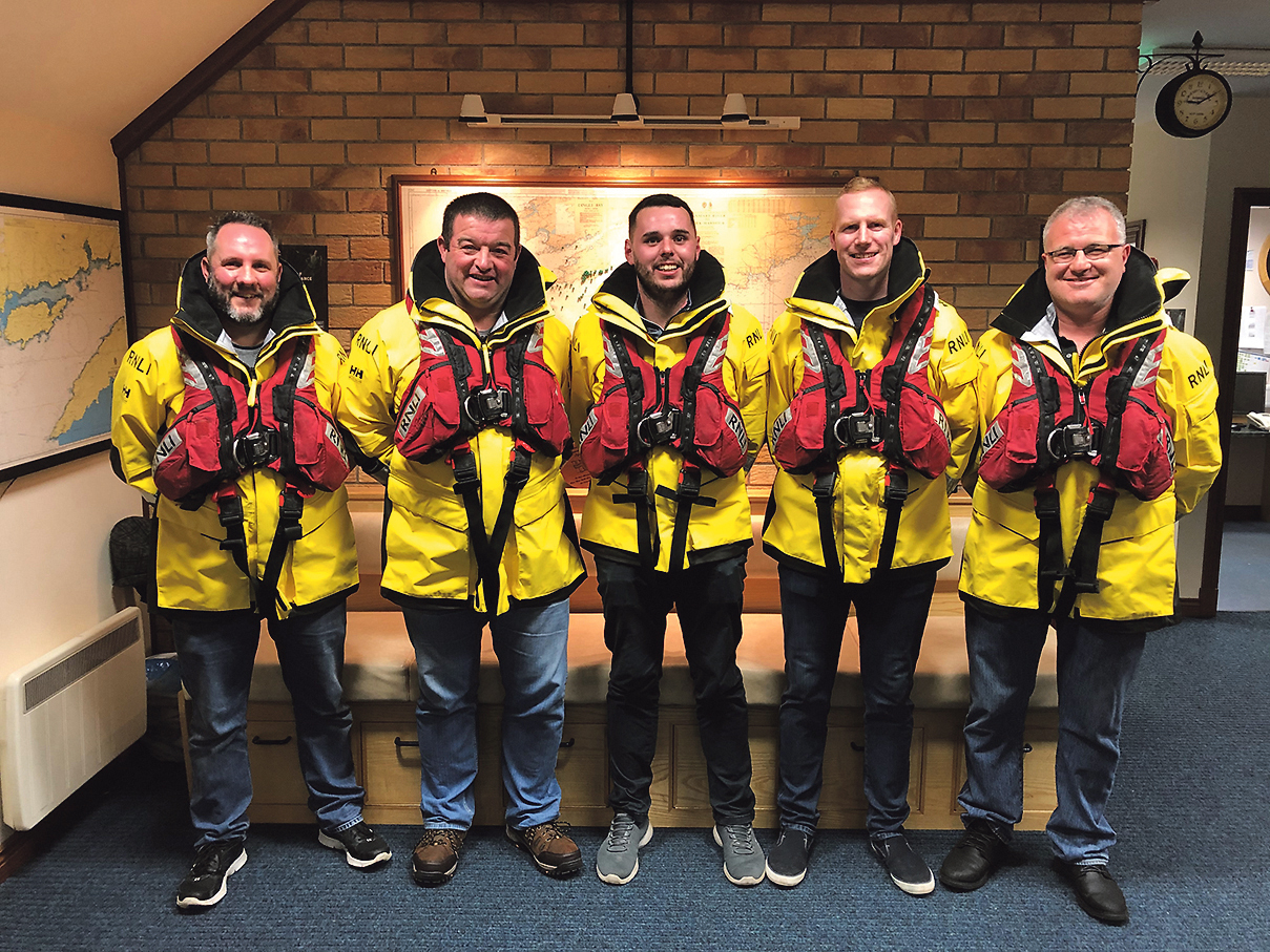 Castletownbere RNLI lifeboat crew to be honoured with Gallantry award